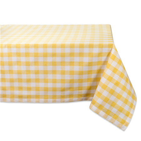 Classic Rectangle Checkers Kitchen Tablecloth Fabric
