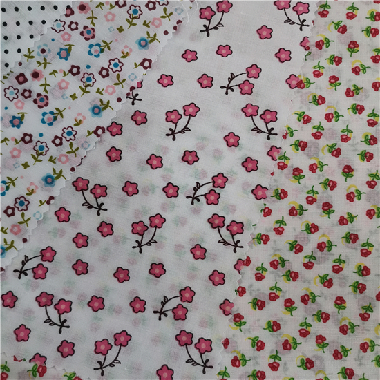 TC printing pocket poplin fabric