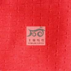 polyster rayon linen jacquard fabric for dress