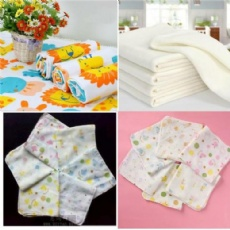 100% Cotton Double Gauze 40*40 88*64  For Baby Muslin, Saliva, girdle, scarf, handkerchief