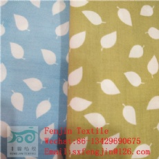 printed polyster cotton poplin fabric  133x72