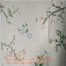 polyster linen printing PVC coating tablecloth